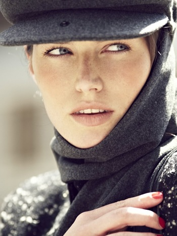 Livvy Echapeau Grey Hat & Scarf Combination