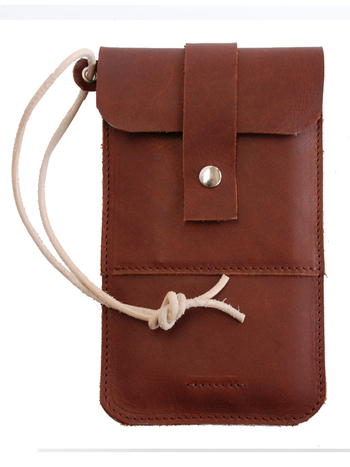 Smartphone sleeve | classic brown