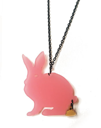 The Golden Turd: pink bunny