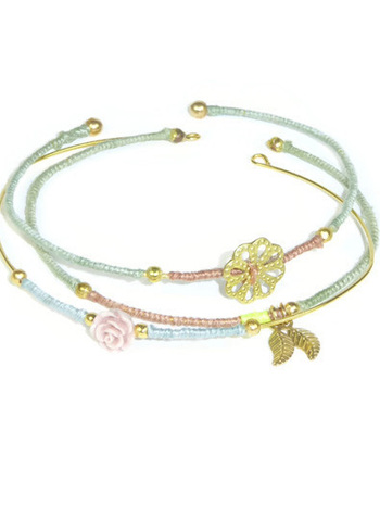 Set van 3 Bangle armbanden Sophisticated Colors