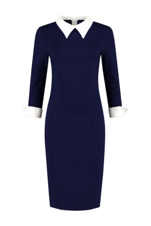 Jurk Marilyn Navy